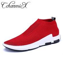 CcharmiX zapatos casuales de los hombres de la primavera de 2018 de moda de  verano zapatillas de deporte antideslizante ligera d. 2540a0c55b8