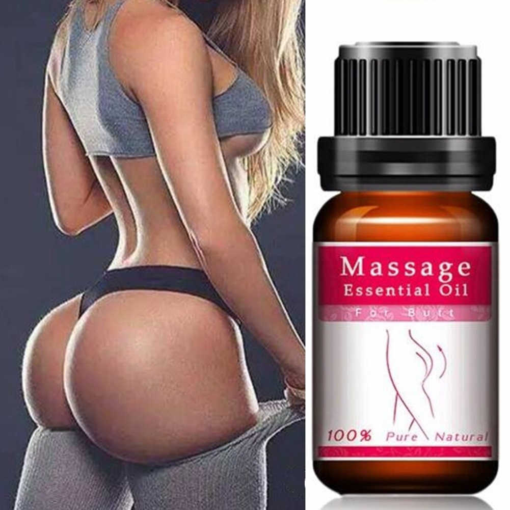 10ml Natural Hip Lift Massage Oil Buttocks Enhancement Rose Extraction Hip Base Essential Oil Anti-Wrinkles Moisturize Compound