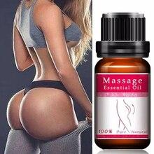10ml Natural Hip Lift Massage Oil Buttocks Enhancement Rose