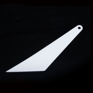 Durable Auto Tint Tool 28*6cm High-Temperature Resistant White Window Tint Squeegee For Car Wrappping MO-104Y