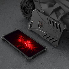 R-JUST Luxury Aluminum Metal Case For Smartisan Nut Pro 2S Fashion Batman Hard Protection Cover For Smartisan Nut Pro 2S Cases(China)