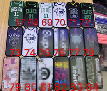 for iphone 6 6s plus 7 7 8 x case nba Team jersey