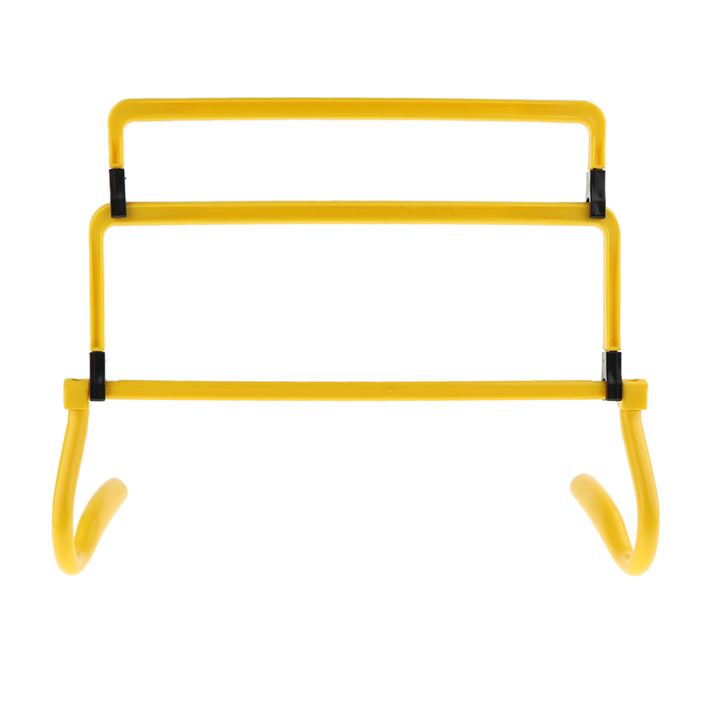 Sporting Goods Speed Agility Training Hurdles-ABS Plastic Made, Lightweight and Durable, Yellow/Red/Blue/Orange/Green