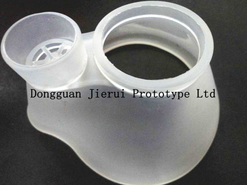 Rapid manufacturing of high quality prototypes of mask and protective equipment