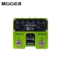 Mooer Mod Factory Pro 2 Independent Processing Modules Containing A Total Of 16 Modulation Effects Guitar