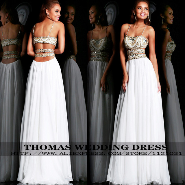 Prom Dress Beaded Indian