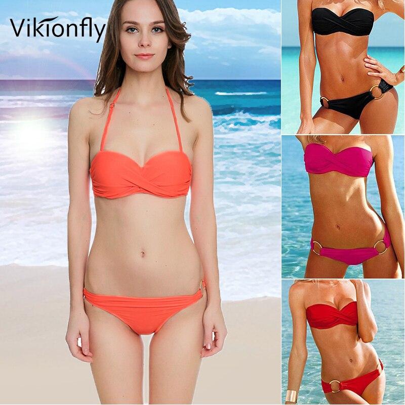 Sexy Ladies Bikini Set Print Swimwear Women Low Waist Bikini Swimsuit Beachwear Bathing Suit Female Swimwear 40nt22 Bikinis Set Sports & Entertainment
