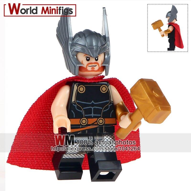 Marvel Lego Moc Minifigure Gift For Kids Golden Loki