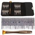 Conjunto de ferramentas de reparo do telefone celular 25 em 1 precisão torx chave de fenda para iphone laptop celular eletrônica ferramenta de mão