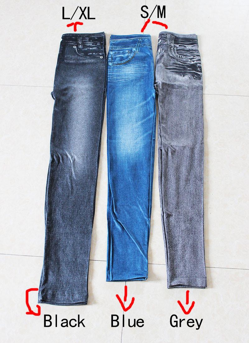 Gtpdpllt S-XXL Women Fleece Lined Winter Jegging Jeans Genie Slim Fashion Jeggings Leggings 2 Real Pockets Woman Fitness Pants 8