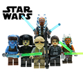 Lepin Star Wars Han Soloet Tauntaun skywalker Aayla Secura Ahsoka Tano mini muñeca Bloques de Construcción conjunto de juguetes para los niños