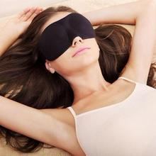 High Quality 1Pcs 3D Rest Eye Mask Memory Foam Padded Shade Cover Blindfold Sponge Eyeshade for Sleeping