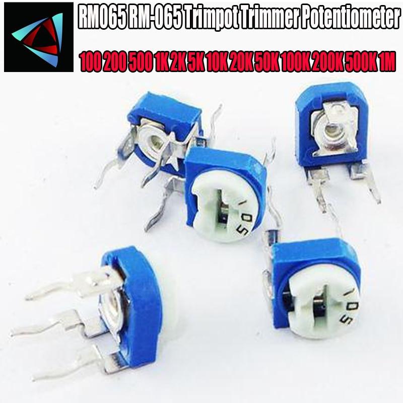 20pcs RM065 10K Ohm Trimpot Trimmer Potentiometer Variable Resistor PC Components