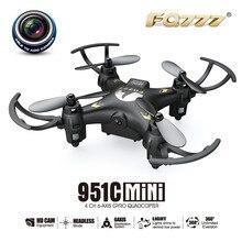 Высокая Quqlity FQ777 951C 2.4 Г 0.3MP Камера RTF 4CH 6-осевой Гироскоп RC Quadcopter Drone Игрушка в Подарок Для Детей Игрушки оптовая