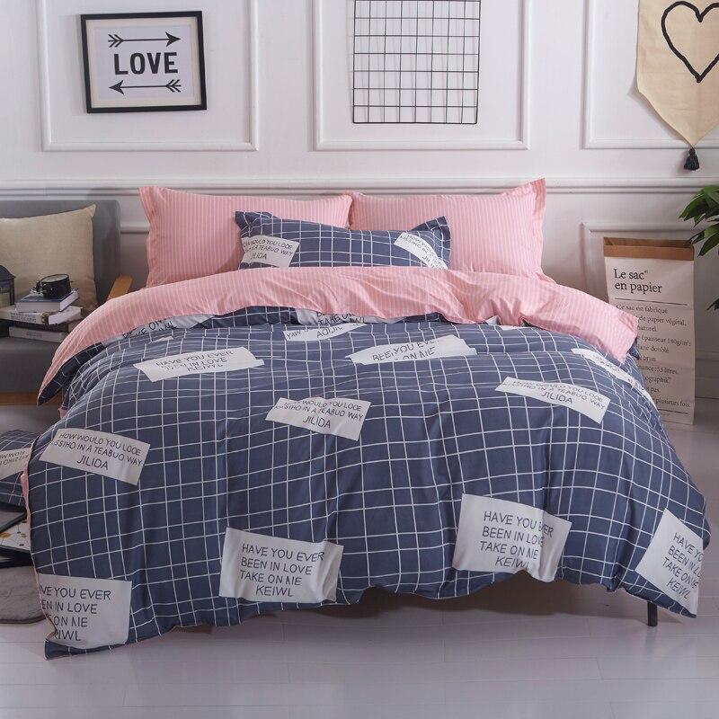 Nette edding Set Heimtextilien Bett Kleidung Twill patchwork ...