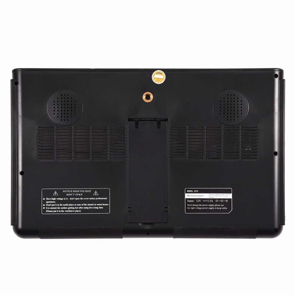 LEADSTAR 10 بوصة تلفزيون محمول dvb-t DVB-T2 ATSC ISDB-T تلفزيون رقمي تناظري تليفيزيون لسيارة شاشة تلفزيون LED تلفاز صغير محمول