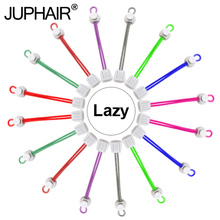 New 1 Pair White Shoelace Buckle Colorful Shoelace Shoes trings Elastic Running Shoes Jogging Triathlon Sport Fitness Shoe Laces