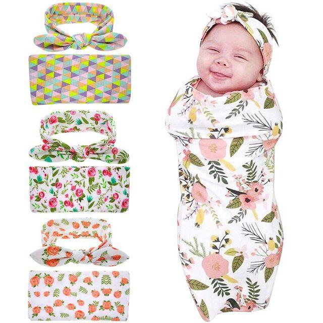 3b332156e Headband Swaddle Blanket Wrap Newborn Head wrap Swaddle   Head band ...