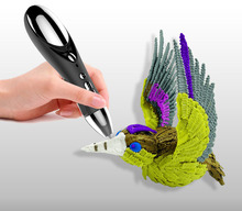 5 Colors Crafting Abs/pla 1st 1.75mm Diy 3d Printing Pen Creative Gift For Kids Design Painting Kids Drawing Tools