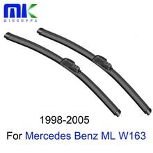 Mikkuppa Wiper Blades For Mercedes ML W163 1998 1999 2000 2001 2002 2003 2004 2005 Windscreen Windshield Wiper Car Accessories