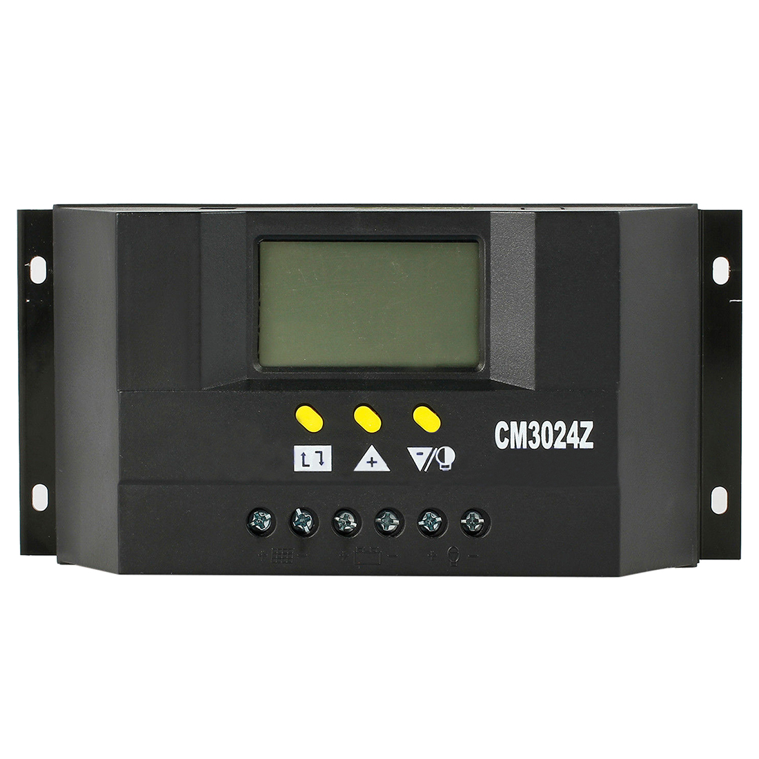 PWM LCD Solar Charge Controller Regulator Panel Battery Protection 30A 12V/24V maylar 30a pwm solar panel charge controller 12v 24v auto battery regulator with lcd display