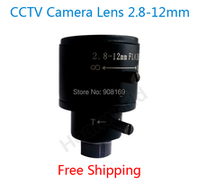 HOT sell Surveillance 1/3″ CCTV Camera Manual Focus 2.8-12mm Varifocal CCTV Board IR Lens for Security Camera Wide Angle View