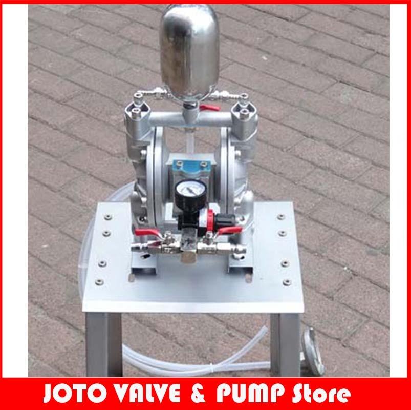 35L/min Aluminum Alloy Paint Pneumatic Diaphragm Pump Mini Air Diaphragm Pump 8 l min electric diaphragm 12v dc mini air pump brush page 8
