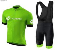 2018 Brand Pro Team Cube Cycling Jersey Ropa Ciclismo Quick Dry Sports Jersey Cycling Clothing Cycle