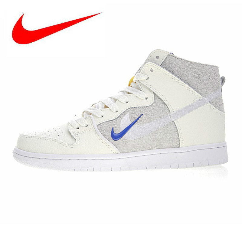 wholesale dealer 48127 928c2 Detail Feedback Questions about Nike SB Zoom Dunk High PRO QSmens and  Womens Skateboarding Shoes , Lightweight Abrasion Resistant  Breathable,Beige AH9613 ...