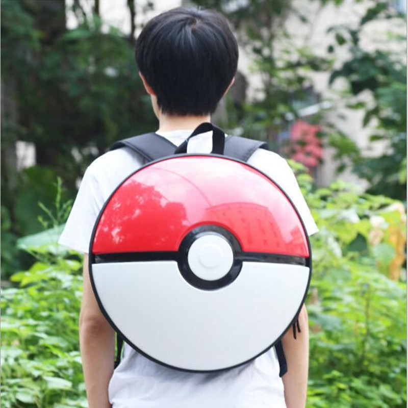 Fashion Unisex Pocket Monster Pokemon Backpack Student School Bags For Boys Girls Teenager Rucksack Mochila цены