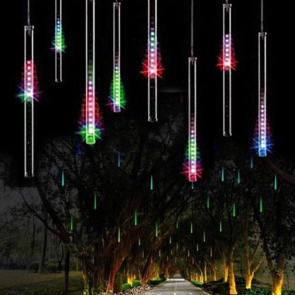 1Pcs X 30CM 144LED Meteor Shower Rain Tube LED Christmas Light Wedding Party Garden Xmas String Light Outdoor Holiday Lighting