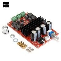Durável 100 W 12 V ~ 24 V TPA3116D2 Dual Channel Amplificador de Áudio Digital Board Para Arduino Alta eficiência de Áudio Módulo amplificador