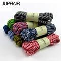 JUP long 120-160cm Colorful Striped Round Shoelace Mountain Climbing Athletic Shengdai Fashion Shoelace CasualRunning Shoestring