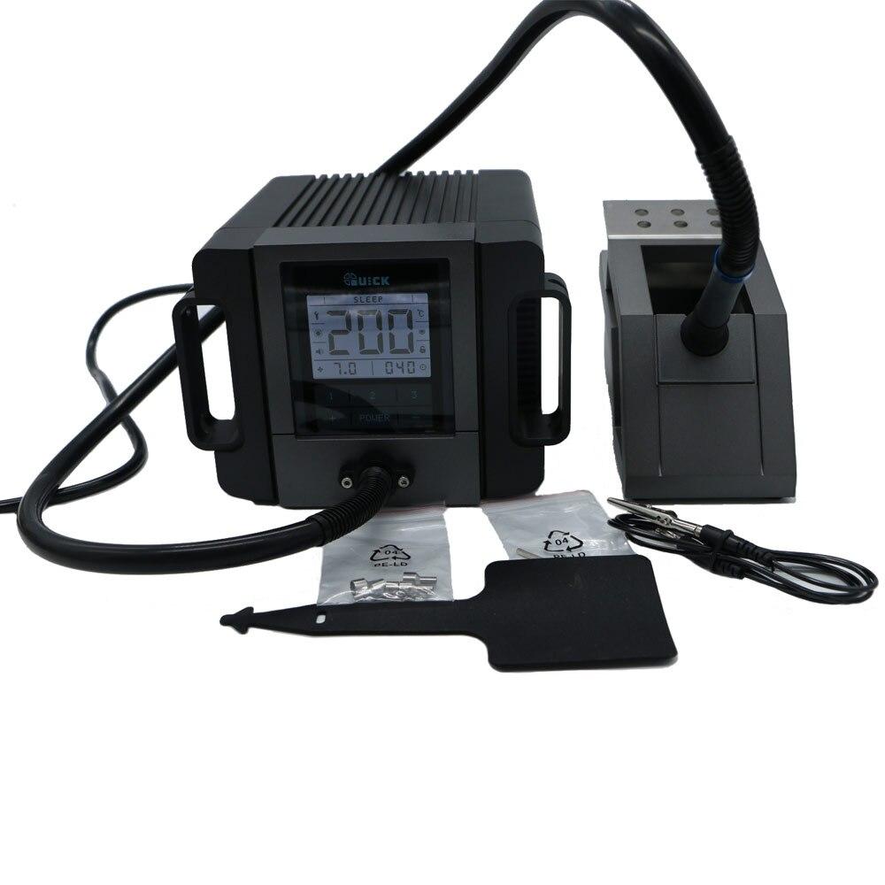 Оригинальный 180 Вт 110 В/220 В Быстрый TR1100 паяльная станция портативный Электрический сварочный аппарат ЖК-дисплей Дисплей
