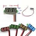 DC 0-30V 2 Wire LED Display Digital Voltage Voltmeter Panel Car Motorcycle Green 2017 Hot