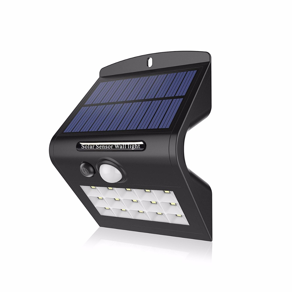 Led Solaire Terrasse Us 13 46 20 Off Led Lamp 2835 Solar Led Light Outdoor Waterdichte Spot Solaire Terrasse 15 Leds Pir Bewegingssensor Lamp Voor Tuin Yard Pathway In