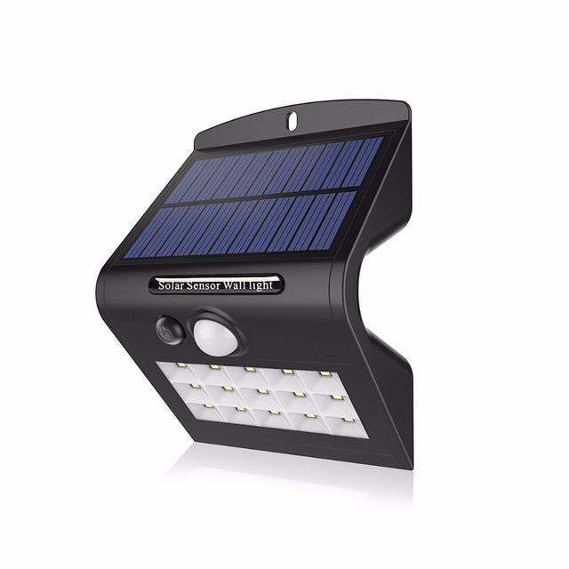 Led Lamp 2835 Solar Light Outdoor Waterproof Spot Solaire Terre 15 Leds Pir Motion Sensor Bulb For Garden Yard Pathway