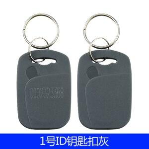 Image 5 - 100 sztuk/lot125khz RFID EM4100 TK4100 breloczki Token tagi piloty brelok ID karty tylko do odczytu kontrola dostępu karta RFID