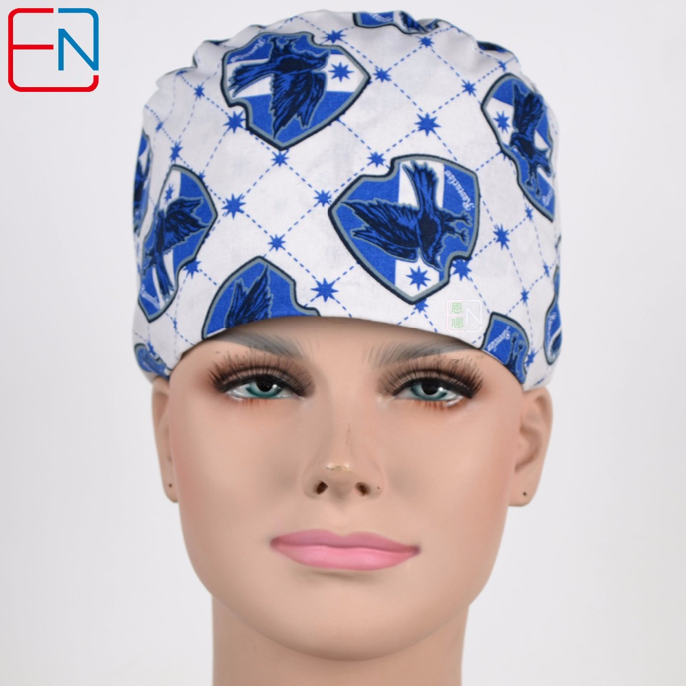 Factory Sales Directly Big Sales Medical Scrubs In Different Patterns ,surgical Caps 3 Sizes Scrub Caps Halilibo