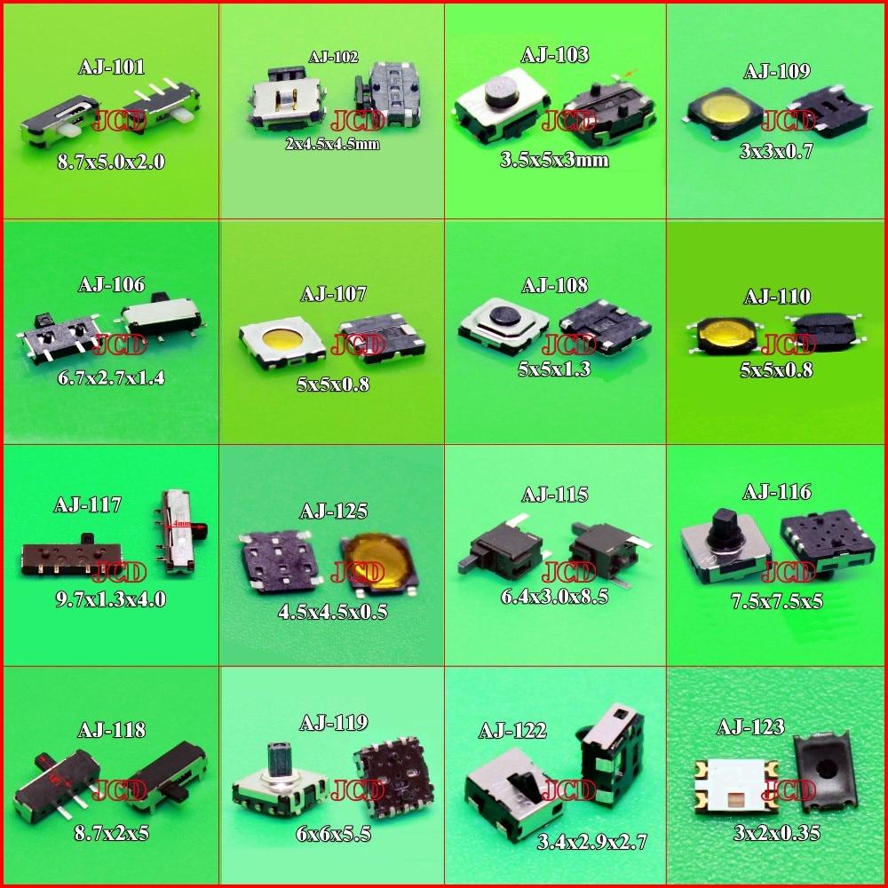 Cltgxdd 16 моделей на выбор 1x 3X6X3.5MM 2 контактный тактильный Такт Кнопка Микро переключатель мгновенного 3x3 5x5 6x6 3x2|switch 16|switch buttonswitch micro switch | АлиЭкспресс