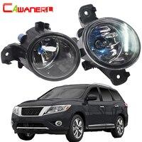 Cawanerl For Nissan Pathfinder 2013 2014 100W H11 Car Accessories Halogen Fog Light Daytime Running Lamp DRL 12V Super Bright