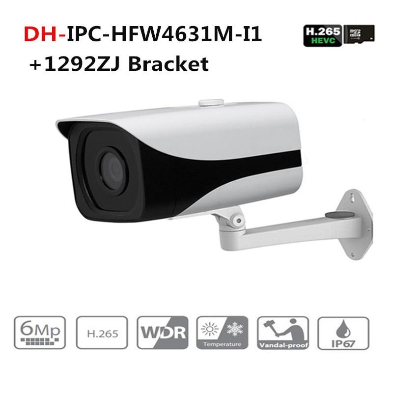 IPC-HFW4631M-I1 6MP Starlight Camera IR50M IP67 POE CCTV camera replace IPC-HFW4431M-I1 IP camera with Dahua Logo все цены