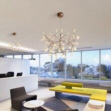 LED Chandelier Tree Leaf Modern Pendant Lighting
