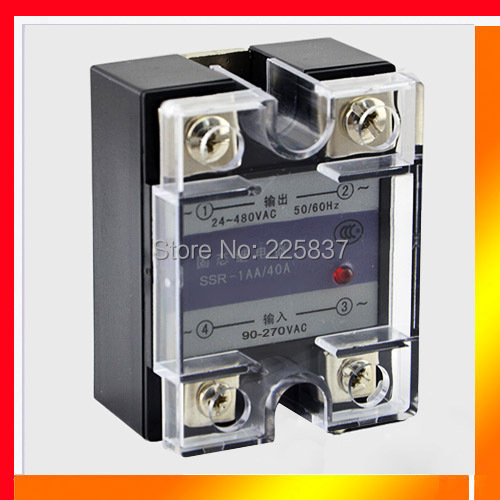 SSR-20DA (2pcs/lot) fotek JGX-20F 3-32v DC to 24-480v AC single phase 20A solid state relay module ssr relay free shipping original 3 phase ac solid state relay ssr 15a 80 250vac normally open electronic switch