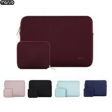 MOSISO Laptop Sleeve 14 15.6 Inch Notebook Bag13.3 For MacBook Air Pro13 Case Bag 11 12 13 15 Computer Protective