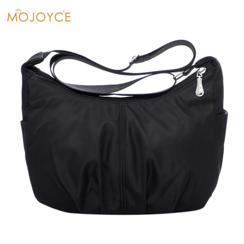 Waterproof Nylon Women Messenger Bags Female Hobos Crossbody Shoulder Bags Casual Clutch Carteira Vintage Hobos Ladies Handbags
