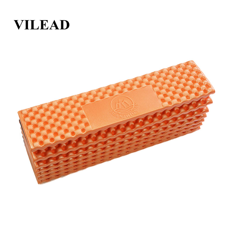 VILEAD 185*55 cm Camping Mat IXPE Ultralight Foam Folding Waterproof Mattress for Camping Hiking Picnic Beach Sleeping Seat Pad-in Camping Mat from Sports & Entertainment