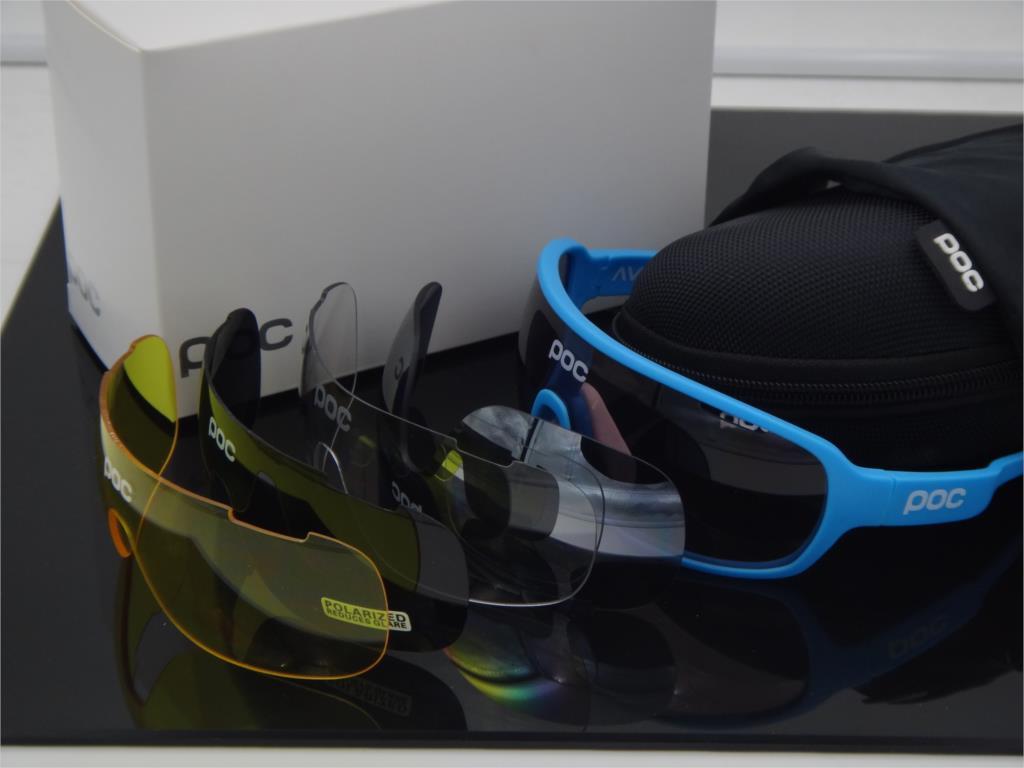 ТОЦ 2016 Новинка 5 объектив лыжные очки Airsoftsports сделать лезвие солнцезащитные очки поляризованные Для мужчин Спорт Дорога Mtb горный велосипед ...