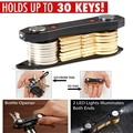 New Key Organizer , Holds up to 30pcs  Key Holder Travel Kit Simple  Portable Anti-lost Clip Keybone