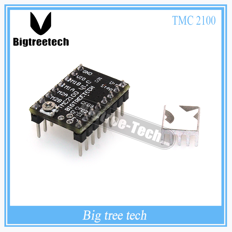 BIGTREETECH 1PC StepStick MKS TMC2100 stepper motor driver ultra-silent excellent stability and protection superior performance